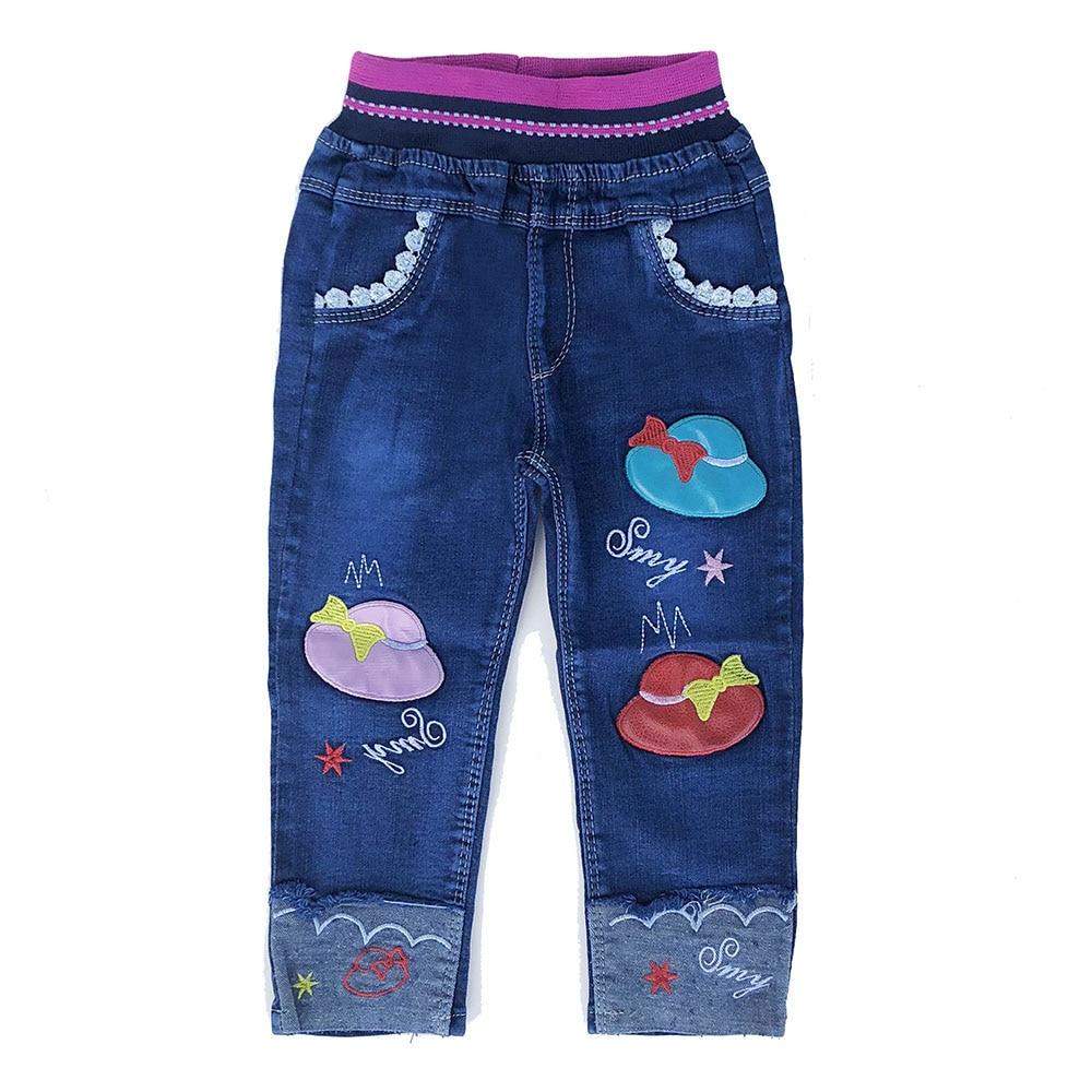 Pantalones Vaqueros Para Ninas Pequenas Para Primavera Y Otono 1 12 Anos Pantalones Vaqueros Aliexpress