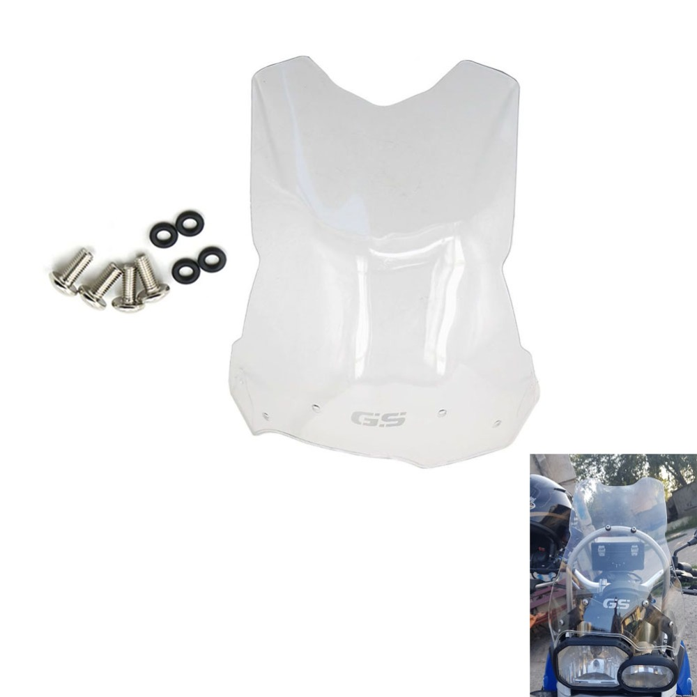 08 17 For BMW F800GS F700GS F650GS High Quality Plastic Motorcycle Front Windscreen Windshield F 800
