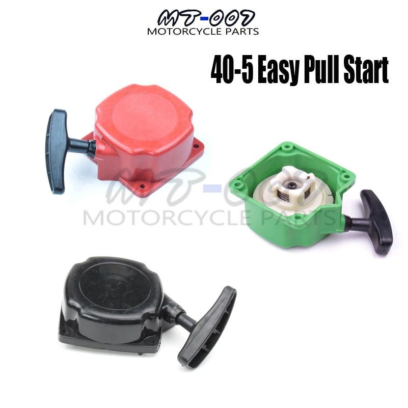43cc 49cc Engine 40-5 Easy Pull Start pullstarter For Pawl Motovox Gas  Scooter MVS10 Quad ATV Buggy Go Kart Motorcycle