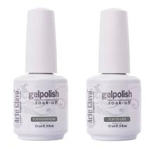 Hot Sale 15ml Arte Clavo No Wipe Top coat Primer Base Coat Nail Gel Soak Off Nail Polish Lacquer UV Builder Gel Set