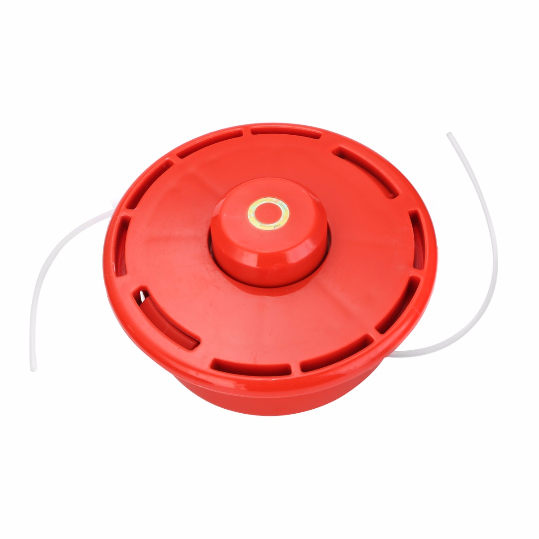 Universal 2 Line Bump Feed Trimmer Head Brush Cutter Brushcutter Strimmer Head With Rope High Quality Lawn Mower Parts Mayitr craftsman automatic feed spool with nylon line replacement 71 85942