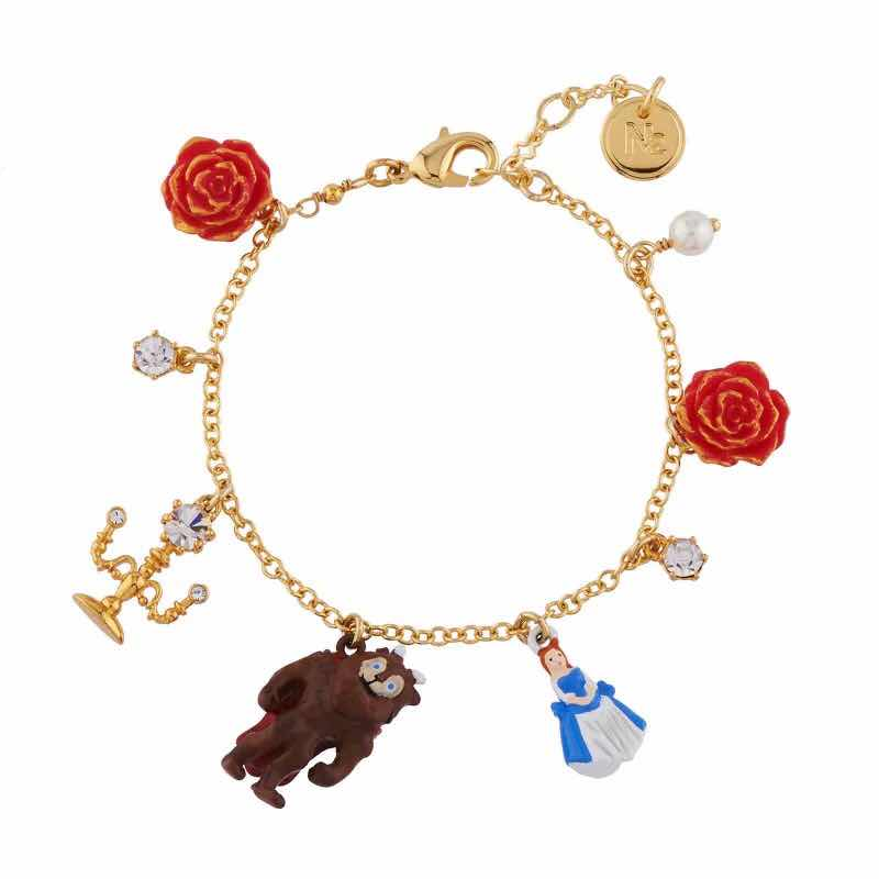 2019 Amybaby Handmade Enamel Glaze Beauty and Beast Womens Bracelet Jewelry For Party