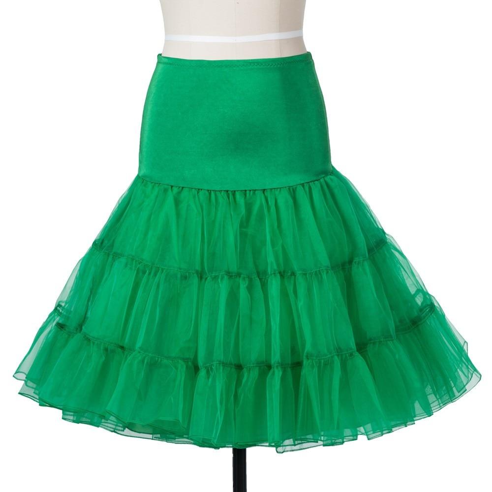 14 Färg Petticoat Kvinna 3 Layer Girls Underskirt Tutu Crinoline - Bröllopstillbehör - Foto 3