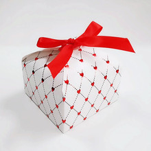 30 PCS/Set Colorful Display Candy Bag Christmas Gift Box With Ribbon Bow Paper Box Gift Bag Container Supplier marvis black box gift set