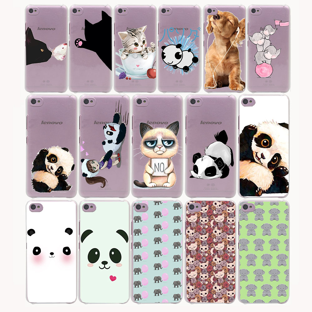 panda elephent cat Hard Case for Lenovo S850 S90 S60 A536 A328 Nokia lumia 640 535 630 730 640XL XL Sony Z2 Z3 Z4