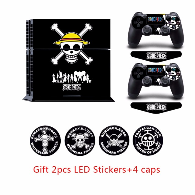 One Piece PS4 Playstation 4 Console Vinyl Anti-slip Skin