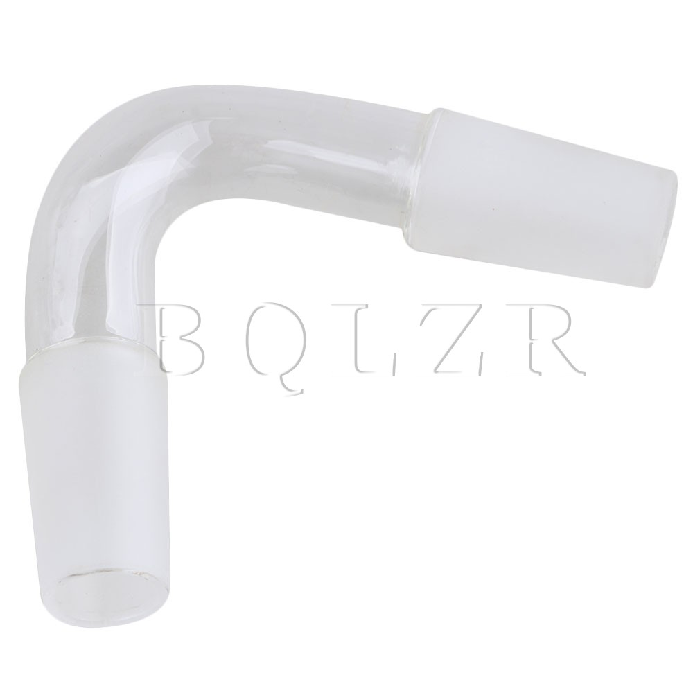 BQLZR 24/40 Laboratory Connection Glass Distillation Adapter Tube 75 Degree 300mm 24 29 joint borosilicate glass jacket allihn bulb condenser distillation for laboratory