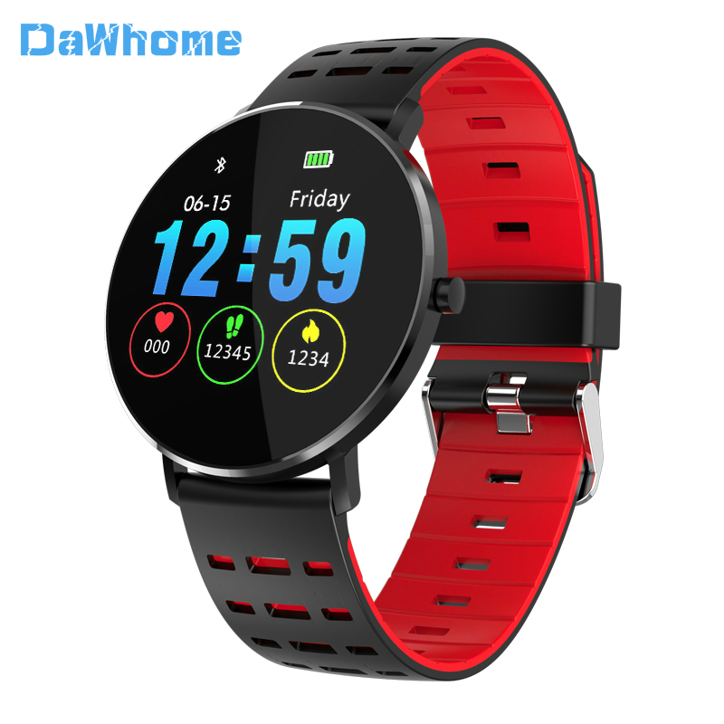 Outdoor Sports Smart Watch Waterproof Android Smart Watch Bluetooth Wristband Heart Rate Pedometer Swimming Ip68 Call Reminder