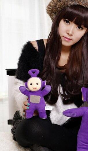 Небольшой симпатичный плюшевый Телепузики игрушки чучела фиолетовый подарок куклу о 22 см