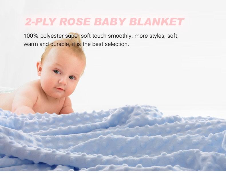 Bebé recién nacido bebé Swaddle Manta Usable Vellón 3d Patrones Que ...