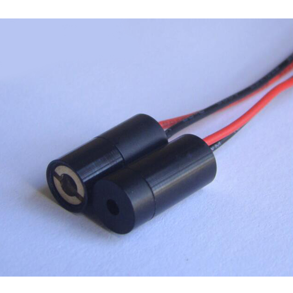 ClassⅡ 850nm 1 mW Infrarot Laser Kopf Punkt Positionierung Induktion Rohr Unsichtbare Laser Gerät