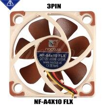 3D принтер вентилятор Noctua NF-A4x10 FLX 5 В/12 в премиум тихий вентилятор охлаждения 4010(40*40*10 мм) для ENDER 3 радиатор охлаждения 3pin