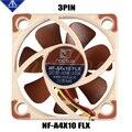 3D принтер вентилятор Noctua NF-A4x10 FLX 5 В/12 в премиум тихий вентилятор охлаждения 4010 (40*40*10 мм) для ENDER 3 радиатор охлаждения 3pin