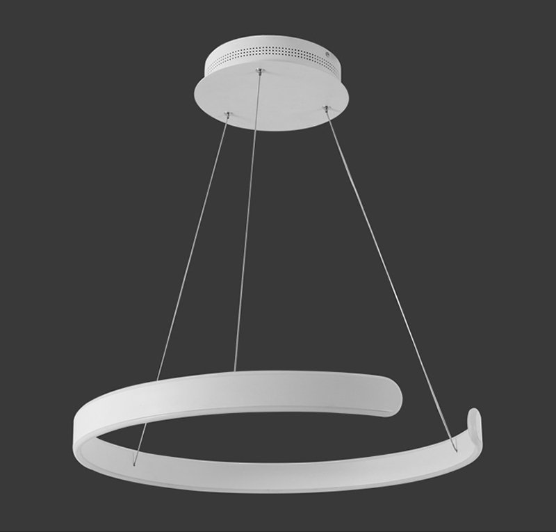 HTB13L.pgHSYBuNjSspfq6AZCpXa5 AC90-264VModern pendant lights for living room dining room Geometry Circle Rings acrylic aluminum body LED Lighting ceiling Lamp