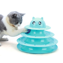 New Funny Cat Toys Intelligence Triple Play Disc Cat Toy Balls Cat Crazy Ball Disk Interactive Toy Top Quality pet product все цены