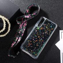 For Huawei y7 pro 2019 / enjoy 9 Case Luxury silicone Liquid Glitter soft case Y9 Enjoy plus Phone back Cases