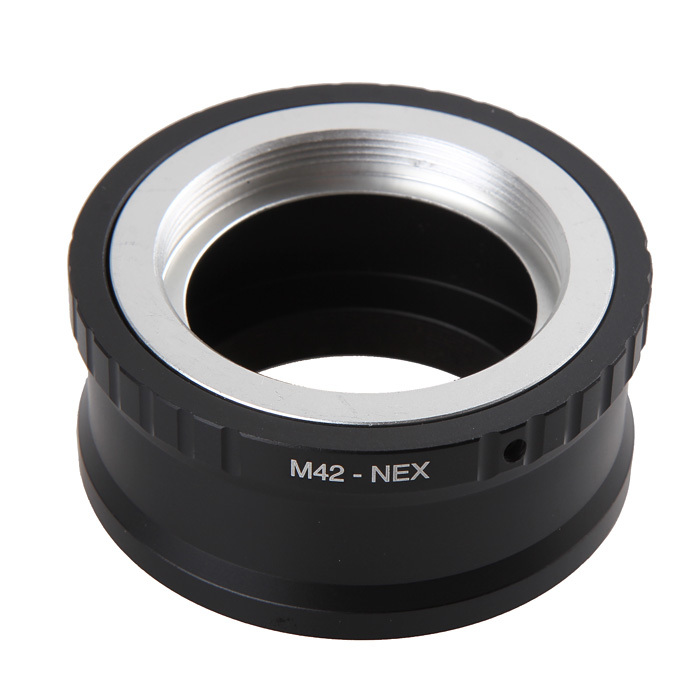 Camera Lens Mount Adapter Ring M42-NEX For M42 Lens And For SONY NEX E NEX3 NEX5 NEX5N Lens Mount Adapter Ring Camera m42 lens for sony body adapter ring