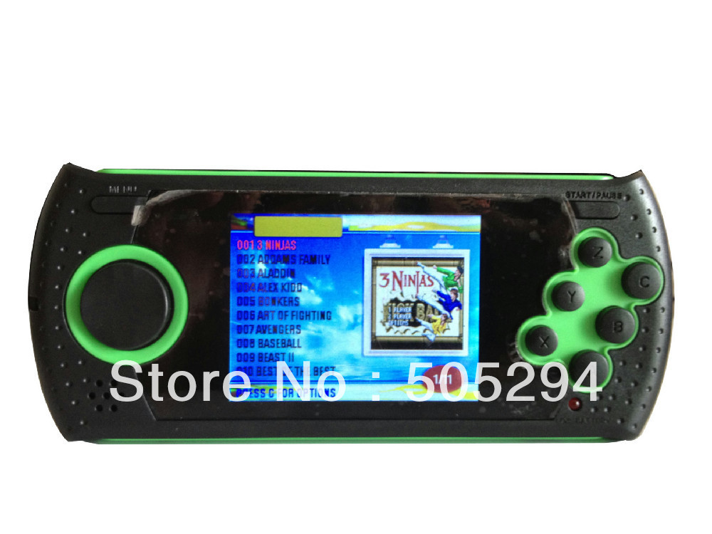 Free Shipment 2 8 LCD Classic SEGA Arcade Ultimate Handheld Player 100 Games Pre with SUPER