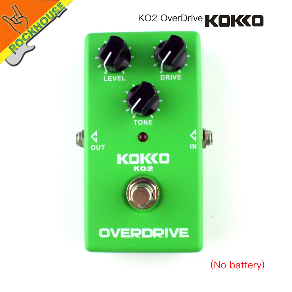 KOKKO Vintage Tube Overdrive Guitar Effects pedal Analog Overdrive Guitarra Pedal High Gain Booster True Bypass Free Shipping wacken metal overdrive