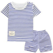 2019 baby boys clothes set quality 100% cotton summer kids clothes striped girl clothes body suit children sets tshirt 2019 baby clothes set best quality 100% cotton summer kids clothes striped baby boy and girl clothes children sets tshirt