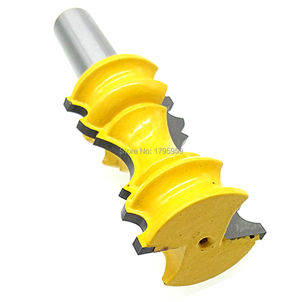 "1/2 Inch Shank 2"" Chair Rail Molding Router Bit"