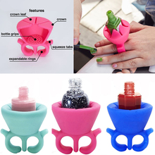 tweexy Nail Polish Holder makes painting your nails a lot easier  tweexy ring  nail polish holder