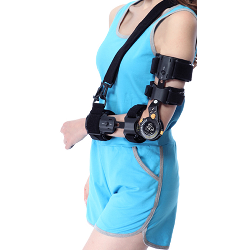 JORZILANO Adjustable Elbow Joint Fixed Support Arm Fracture Dislocation fixed High Quality Cloth Plus Aluminium Alloy Anatomical