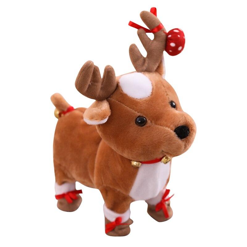 Talking Singing Christmas Reindeer speaking plush toys