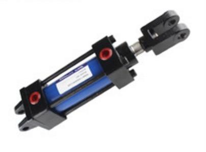 Light tie rod hydraulic cylinder MOB100*150 hydraulic machine oil cylinder with CB double ear tie rod hydraulic oil cylinder with 14mpa hob40x200cb with double ear