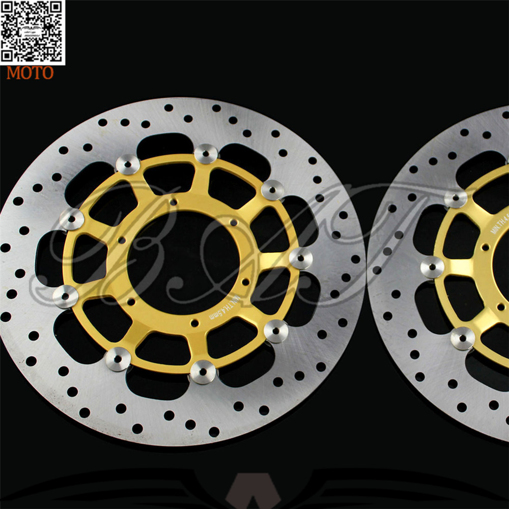 Motorcycle Front Brake Discs Rotor For Honda CBR600RR 2003 2004 2005 2006 2007 2008 2009 2010 2011 2012 2013 2014 aftermarket free shipping motorcycle parts eliminator tidy tail for 2006 2007 2008 fz6 fazer 2007 2008b lack