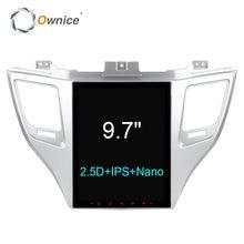 Для hyundai TUCSON 2015 автомобиля gps-навигация головного устройства на борту компьютер 9,7 дюймов android-автомобильный dvd мультимедийный плеер DVR OBD2 PC