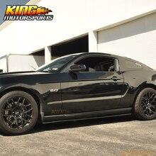 Для 10-14 Mustang V6 V8 GT Нижняя линия боковые юбки сплиттер PU