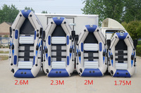 3 Layer 0 9MM PVC Material Professional Inflatables Kayak Fishing Boat Inflatable Laminated Wear Resistant Boat