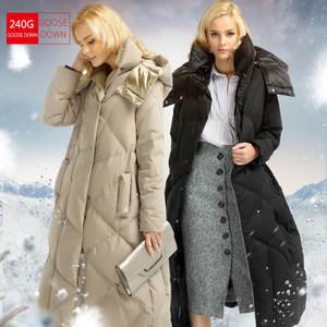 ea12900cc8c SVESIA 2016 Down Coat Jacket Warm Woman Winter with Hood