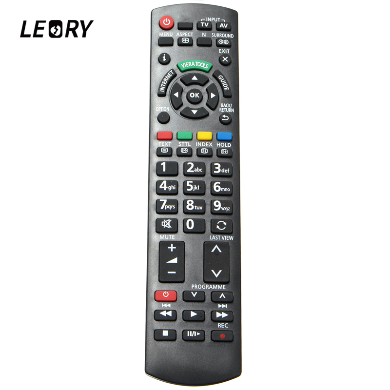 LEORY New Replacement Remote Control For <font><b>Panasonic</b></font> <font><b>3D</b></font> <font><b>TV</b></font> N2QAYB000659 NC Smart <font><b>TV</b></font> LCD LED Plasma <font><b>TVs</b></font> image