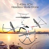 Nhãn hiệu Mới RC Quadcopter 2.4 GHz 4CH Không Đầu Chế Độ Drone Dron Một Chìa Khóa Trở Lại Tính Năng Không Thấm Nước Drone 3D rollover Fly máy bay trực thăng