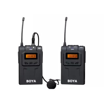 BY-WM6 Wireless clip microphone camera SLR camera interview external recording microphone CD50