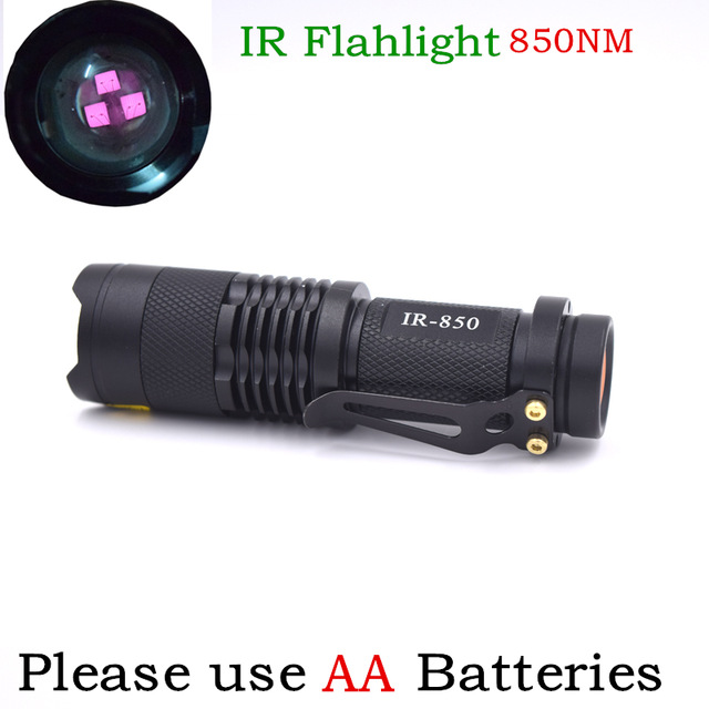 Infrared Tactical Headlight Camping Sensor Light