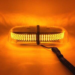 Image 2 - Mini stroboscope 12V 240 LED toit de voiture, lumière clignotant de sécurité pour les véhicules dapplication de la loi, avertissement durgence, balise