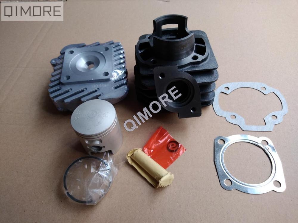 47mm big bore kit / Cylinder Piston Rings & cylinder head Set for Scooter Tact 50 DIO50 AF17 AF18 AF27 AF28