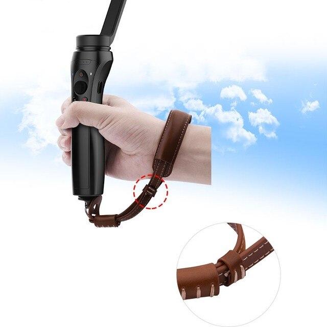 Официальный Emax PU Материал ремешок ручной ремешок браслет черный/коричневый 215 мм MarSoar Ручной Стабилизатор