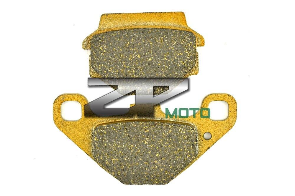 Organic (Kevlar) Brake Pads For KAWASAKI ATV KXT250 B2 Tecate 87 KLF 300 Bayou 88-04 Front KXT 250 Tecate 85-86 Front & Rear 1999 2000 arctic cat 250 2x4 kevlar carbon front brake pads