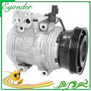 AC A/C Air Conditioning Compressor Cooling Pump 10PA15C PV4 with clutch for Hyuindai Tucson JM 2.0 16240-30200 97701-2D700