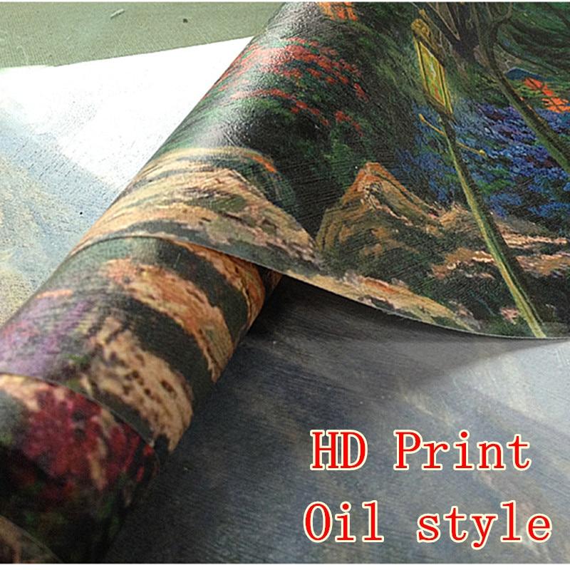 Wu Guanzhong kinesiska bläckmålning HD-utskrifter på Canvas Wall - Heminredning - Foto 6