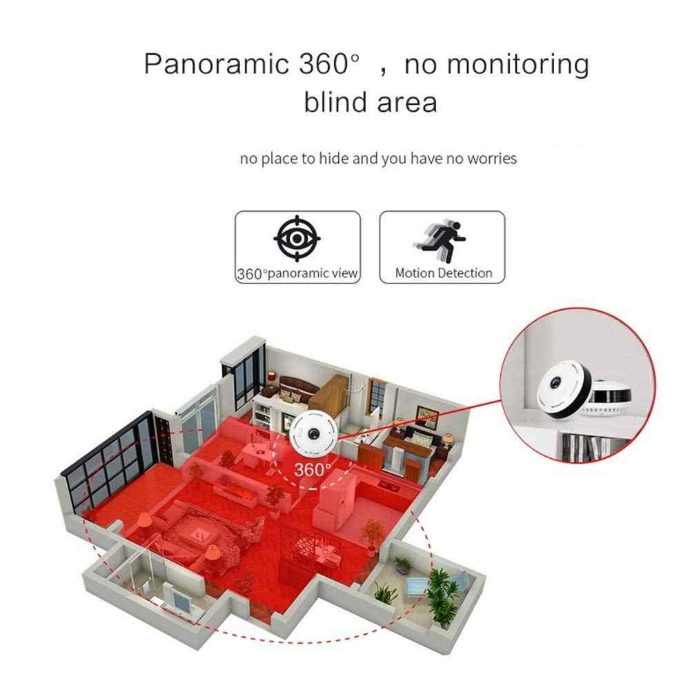 960P Toàn Cảnh Wifi VR Camera 360 Độ Mini Camera Quan Sát 3D Không Dây Camara Fisheye Góc Rộng Camera An Ninh Trong Nhà camera