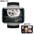 "Dm98 smart watch android 4.4 wifi gps apoio sim 2.2 ""display bluetooth 4.0 moda fitness saúde smartwatch"