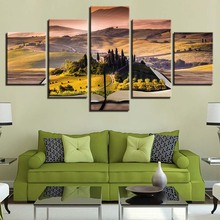 Canvas Painting HD Prints Home Decoration Bedside Background 5 Pieces Wall Art Landscape Modular Tree Pictures Artwork Poster furniture office rotate game chair