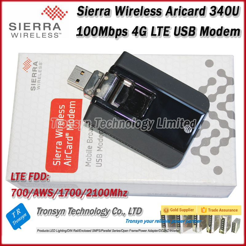 Original Unlock 100Mbps Sierra Wireless Aircard 340U 4G LTE USB WiFi Dongle With LCD Display Support FDD 700 AWS 1700 2100MHz wholesale original unlock 100mbps huawei e392 4g lte usb modem support lte fdd b1 b3 b7 b8 b20