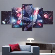 5 Panels Abstract Art Pictures Yuri Plisetsky YURI!!! on ICE Anime Poster Cartoon Wall Paintings for Home Decor
