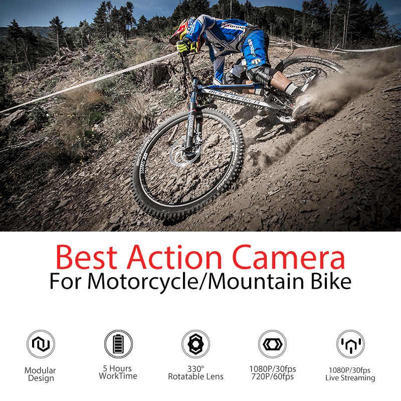 New Arrival Drift duch X aparat akcji kamera sportowa 1080P motocykl rower górski rower kask do kamer Cam z WiFi